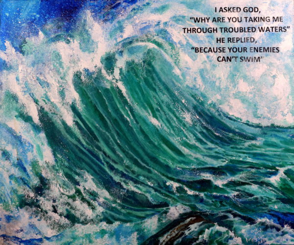 troubled waves